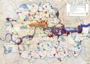 LONDON:Use,Density,Height Zoning:plan preliminary industrial plans;1943 map